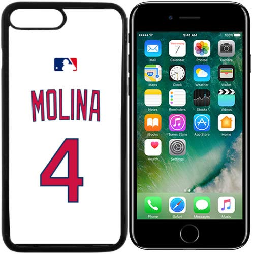 - iPhone 7 Plus New Case Cardinals S.L. Home Jersey Baseball Fashion Grip Anti-Slip Protective Shock Resistant Durable PC TPU by Mr Case (Molina, iPhone 7 Plus)