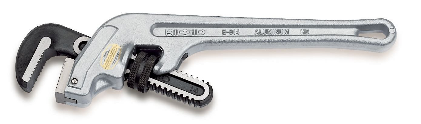 RIDGID 90127 E-924 Aluminum Pipe Wrench, 24-inch End Pipe Wrench, Plumbing Wrench by Ridgid
