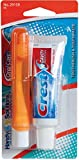 Oral Care Travel Kit with Crest Toothpaste & Folding Toothbrush Case Pack 48