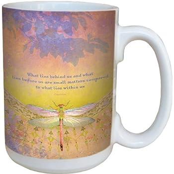 Amazon Com Dragonflies Coffee Mug Large 15 Ounce