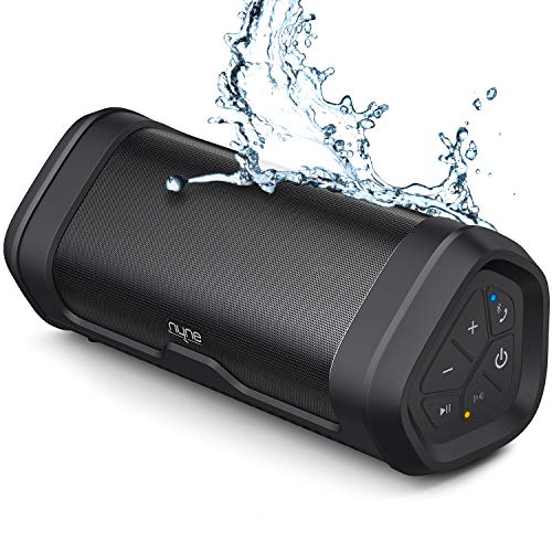 NYNE-Boost-Portable-Bluetooth-Speakers-with-Premium-Stereo-Sound-IP67-Water-Dust-Proof-20-Hours-Play-time-100-ft-Range-Built-in-Power-Bank-and-Mic-True-Wireless-Stereo-Loud-Wireless-Speaker