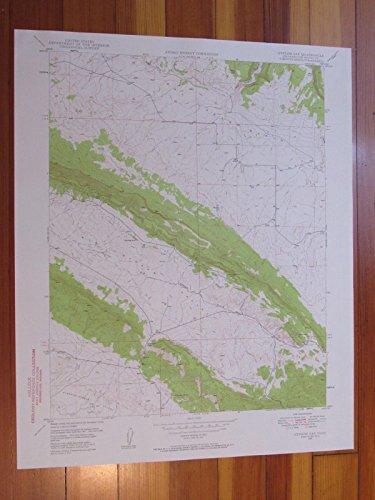 Gypsum Gap Colorado 1957 Original Vintage Usgs Topo Map