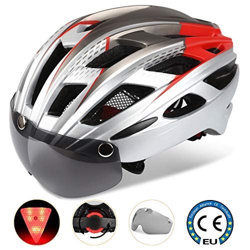 Cycle Bike Helmet with LED Light,CE Certified,Specialized Cycle Helmet with...