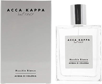 Socialista Eso siete y media  Acca Kappa Muschio Bianco – Eau de Toilette Spray 100 ml: Amazon.co.uk:  Beauty