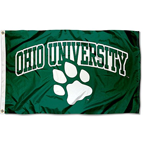 College Flags and Banners Co. Ohio University Bobcat Flag