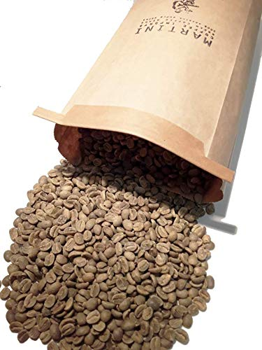 5LBS - Unroasted Green Coffee Beans - Single Origin - Colombia Supremo 17/18 -100% Raw Green Arabica Coffee Beans - (Pereira Region, Colombia, South America) by Martini Coffee Roasters