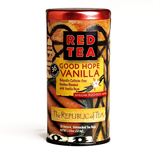 The Republic of Tea Good Hope Vanilla Red Tea 36-Count 2.03 oz each (1 Item Per Order)