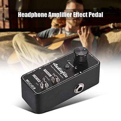 - Kalaok Audiofile Headphone Amplifier Effect Pedal Built-in Analog Speaker Cabinet Simulation True Bypass Full Metal Shell