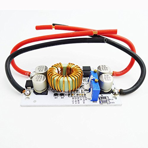 GEREE 250W Boost Converter DC/DC 8.5-48V to 12-50V Output Step-up Module Mobile Power Supply Max 10A