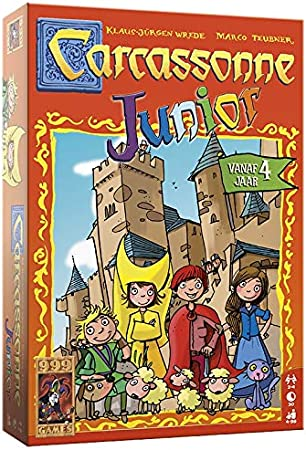 999 Games Carcassonne: Junior - Juego de Tablero (Multi): Amazon.es: Juguetes y juegos