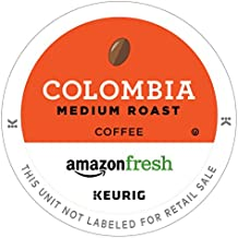 AmazonFresh 80 Ct. Coffee K-Cups, Colombia Medium Roast, Keurig Brewer Compatible