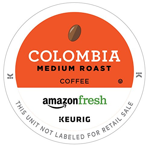 AmazonFresh 80 Ct. K-Cups, Colombia Medium Roast, Keurig K-Cup Brewer Compatible (Best K Cup Coffee Brands)