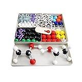 Mererke Advanced Organic and Inorganic Chemistry 240-PIECES Molecular Model Student Set kit (86 Atom Parts CMM-X7963)