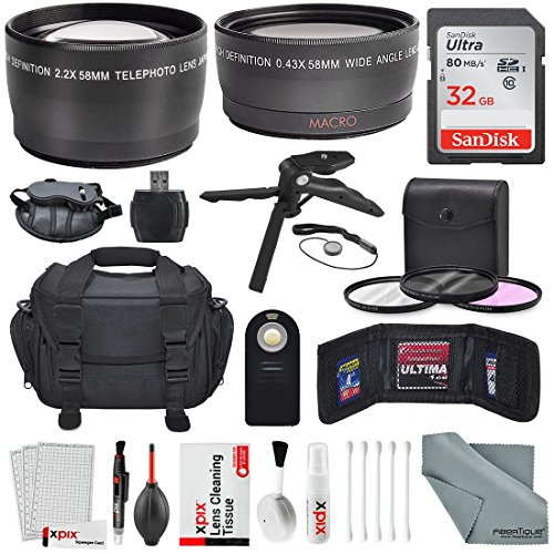 58mm-hd-22x-telephoto-and-043x-wide-angle-xpix-photo-accessories-w-deluxe-photo-and-travel-bag-for-c