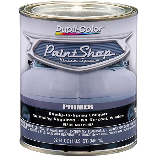 Dupli-Color BSP100 Gray Paint Shop Finish System Primer - 32 oz.