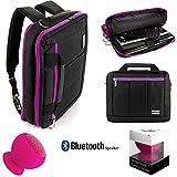 Best Microsoft Messenger Bags - Vangoddy NBKLEA285SPK402 Laptop/Tablet Travel Shoulder Bag, Messenger Bag Review