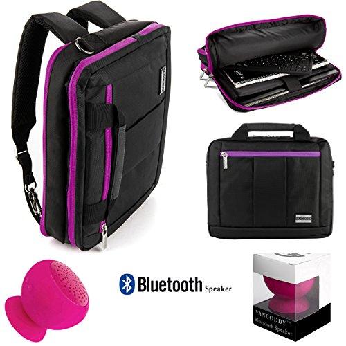 El Prado Universal Lightweight Water Resistant Nylon Bag For Apple Ipad Air 2  New Ipad Air   Ipad Air 2 Case    Pink Bluetooth Suction Speaker
