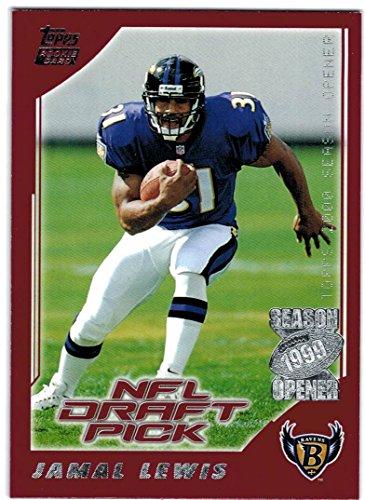 Baltimore Ravens 2000 Super Bowl (2000 Topps Season Opener Baltimore Ravens Team Set with Jamal Lewis RC -- Super Bowl Champs)