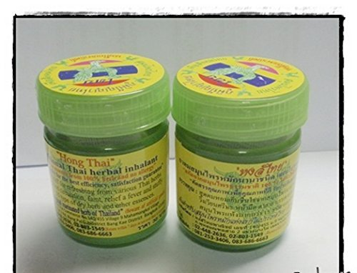 6 X Hong Thai Traditional Thai Herbal Inhalant Inhaler Refreshing Essences Whole Sale and Free Shippng by Hong Thai by Hong Thai
