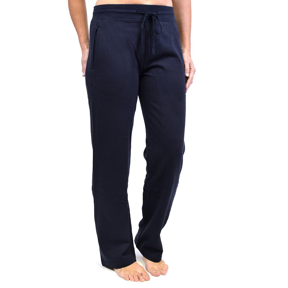C/U Ladies Womens Jogging Fleece Bottoms Joggers Casual Trousers Open Hem Gym