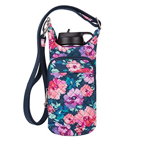 Travelon: Boho Water Bottle Tote Pouch - Blossom Floral ()