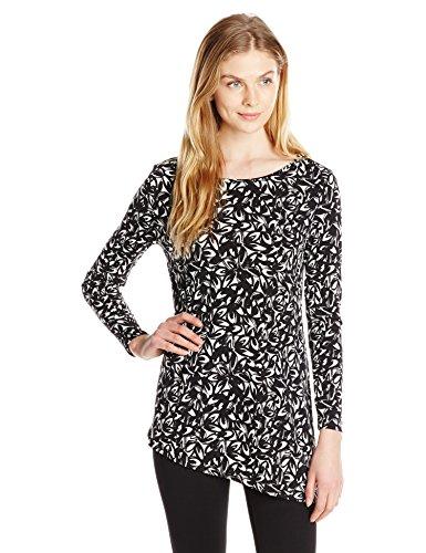 Chaus Women's Long Sleeve Zipper Shoulde - Script Womens Long Sleeve Shopping Results