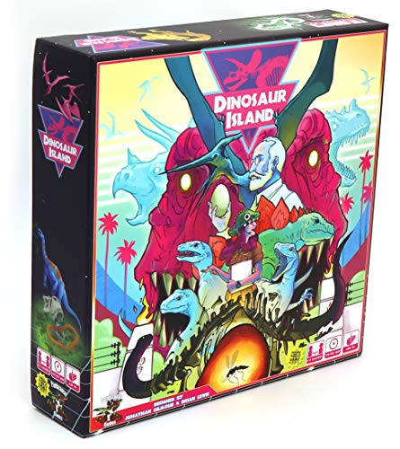 Pandasaurus Dinosaur Island Board Games (Player Case Digital Creative)