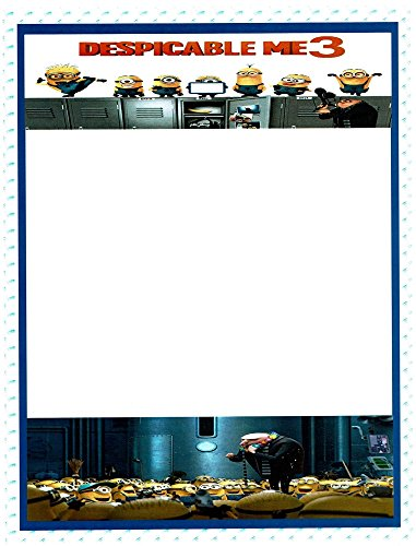 Minions Despicable Me 3 Stationery Printer Paper 26 -