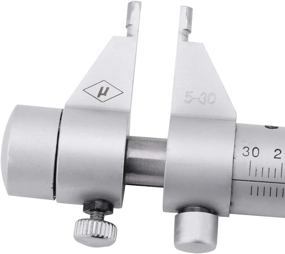 5-30mm Di/ámetro Rango Micr/ómetro interior Di/ámetro del orificio interno galga de 0,01 mm de precisi/ón Calibrador de micr/ómetro
