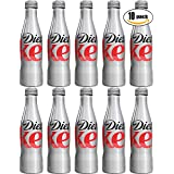 Diet Coke, 8.5oz Aluminum Bottle (Pack of 10, Total of 85 oz)