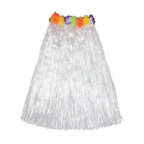 (Hawaiian Grass Hula Dancer Skirt Luau Party Costume Events Elastic Waist -)