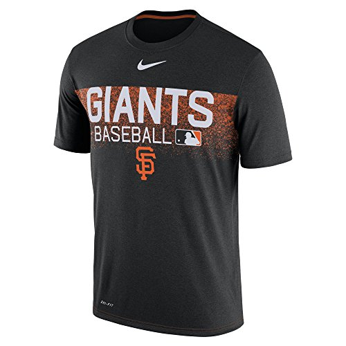 Nike Men's San Francisco Giants MLB AC Legend T Shirt Black Size ()