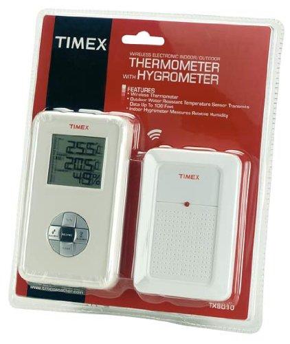 Digital Indoor / Outdoor Wireless Thermometer & Hygrometer: Amazon ...