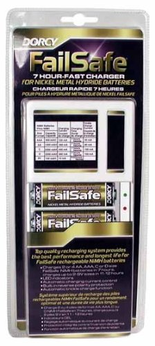 Dorcy International Inc - FailSafe Family Battery Charger- (NIMH Batteries)