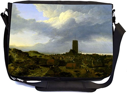 Rikki Knight Jacob Isaakszoon Van Ruisdael Art View of egmond Design Messenger Schule Tasche (mbcp-cond3441)