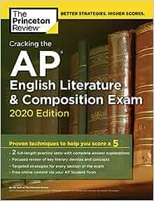 Amazon Com Cracking The Ap English Literature