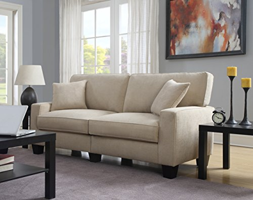 Serta RTA Palisades Collection 78' Sofa in Silica Sand
