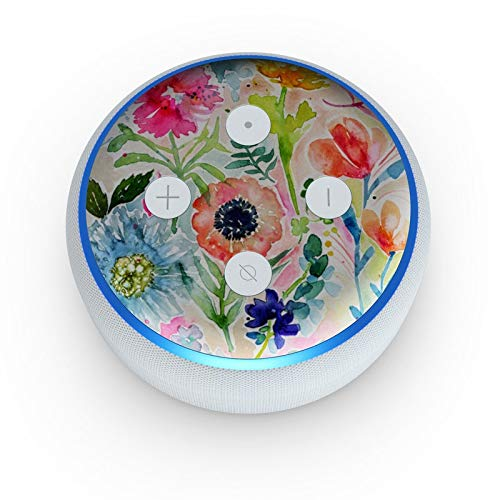 (Loose Flowers - Skin Sticker Decal Wrap for Amazon Echo Dot 3rd)