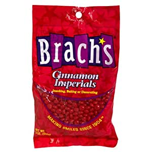 Brach's Cinnamon Imperials Candy 9 Ounce Bags, (Pack of 12)
