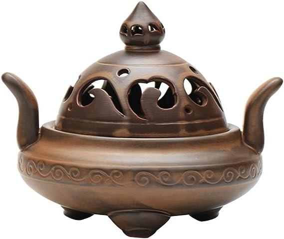芳香器・アロマバーナー 香炉セラミック板香炉家庭アンティークアロマ炉装飾飾り アロマバーナー芳香器
