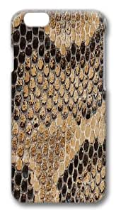 iPhone 6 Case, iPhone 6 Cases -Snake Skin3 Polycarbonate Hard Case Back Cover for iPhone 6 3D