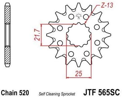 PIGNON 14 DENTS ACIER-JTF565.14SC W800 Compatible avec//Remplacement pour ER6 VERSYS