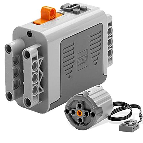 Lego Functions Power Set Includes 1 Battery Box 8881 and 1 Lego Functions Power XL-Motor 8882