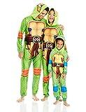 Nickelodeon Boys' Little Ninja Turtles Uniform Union Suit, Green, 6