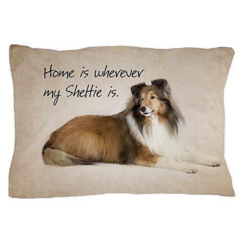 CafePress Sheltie Standard Size Pillow Case, 20