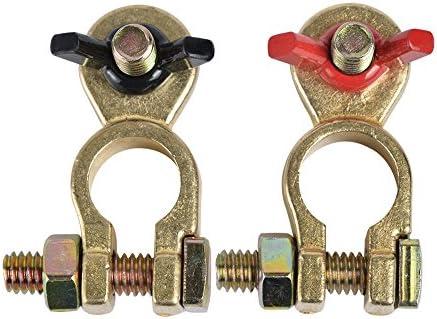 24V Batteriepolklemmen Autobatterie 35-50mm Klemme BWI 2x Batterieklemmen 12V