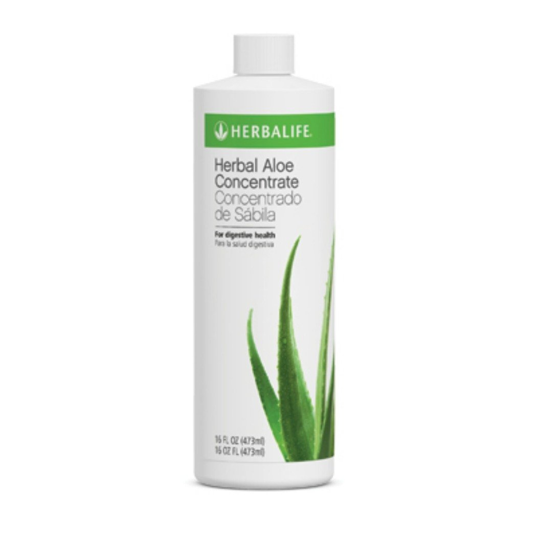 Herbalife Herbal Aloe Drink Concentrate - Original Pint - Supports Internal Cleansing and Soothes the Digestive System