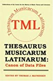Thesaurus Musicarum Latinarum, , 0803282338