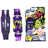 Remeehi Purple Mini Educational Finger Skateboard Cute Fancy Toys Mini Finger Skateboards for Kids