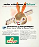 1947 Ad Fullergript Hat Brushes Rabbit Bunny Comb Animal Lockwood Fur Company - Original Print Ad